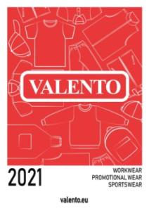Capa do Catálogo Valento