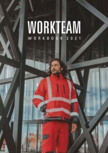 Capa do Catálogo WORKTEAM